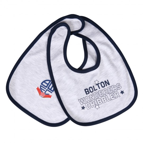 Bibs 2 Pack Marl and Navy