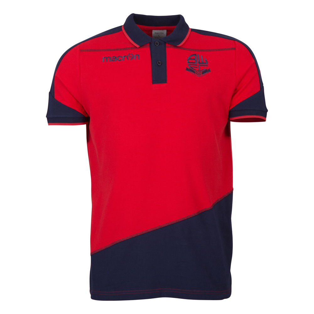 Travel Polo Shirt Adult Red 1617
