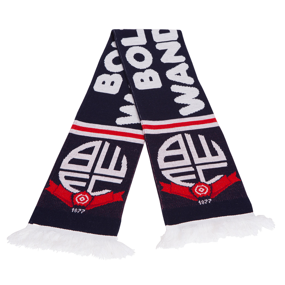Scarf Bolton Wanderers Euro