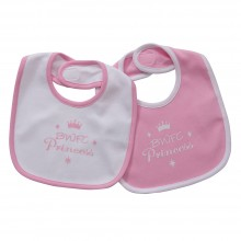 Bibs Pink Twin Pack
